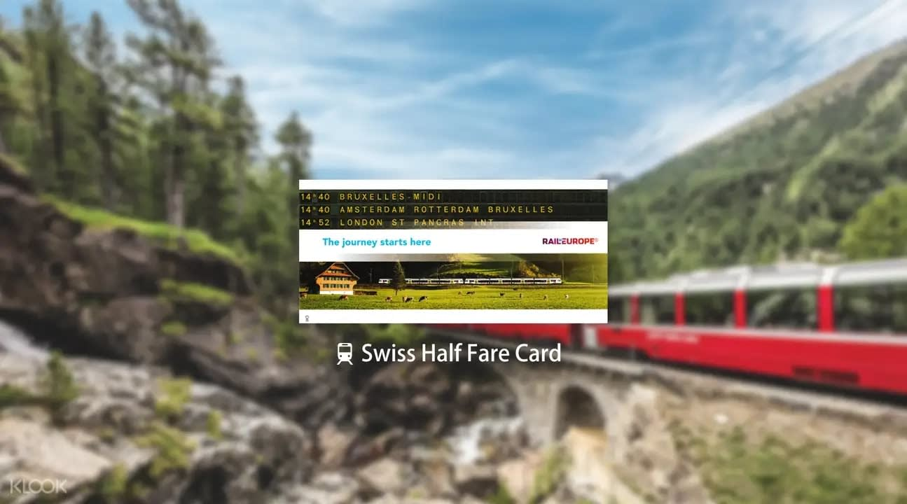 Picture of the Swiss Half Fare Card