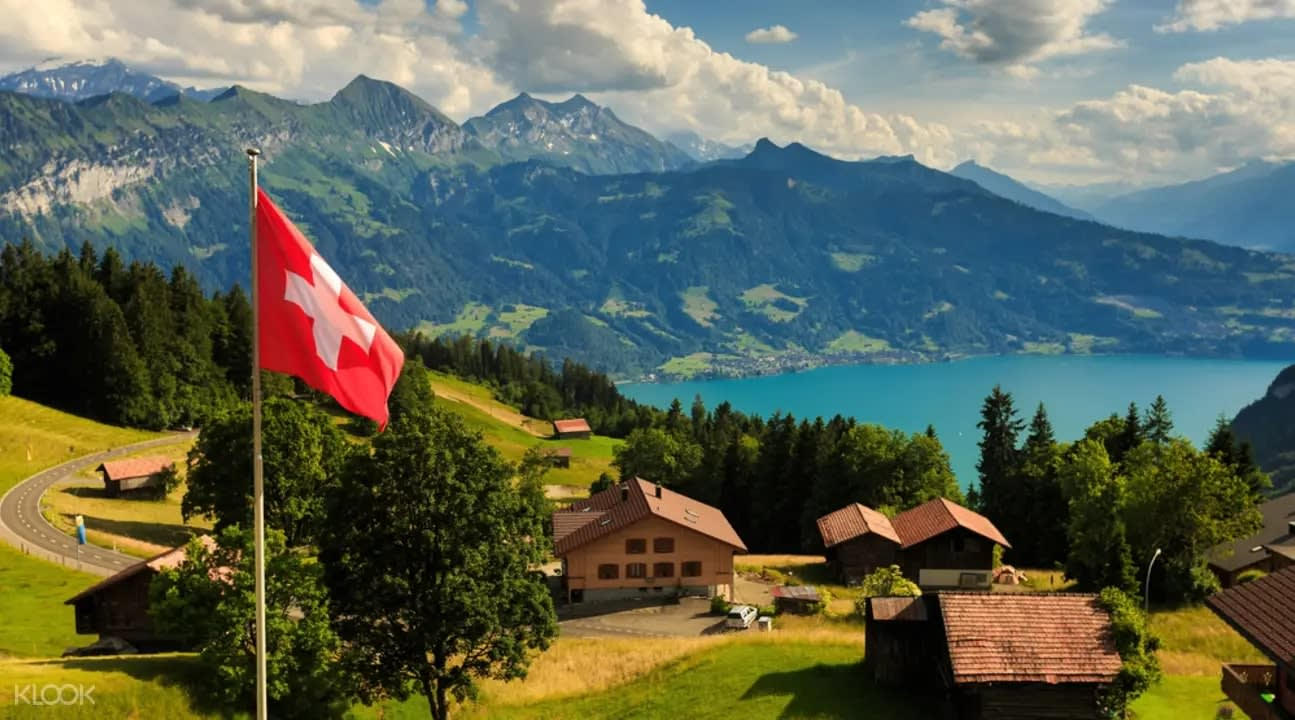 Scenery in Grindelwald and Interlaken Switzerland