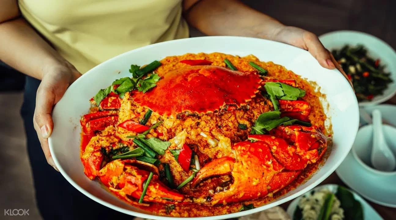 Crab at Savoey Restaurant