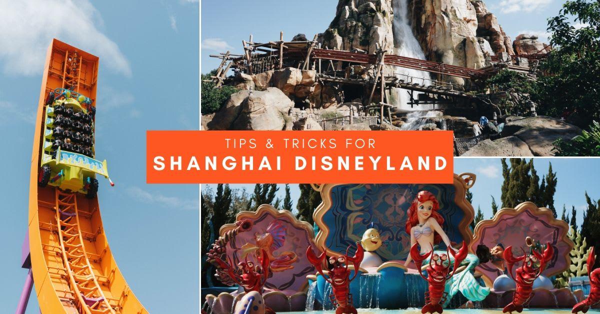 Shanghai Disneyland Tips 18