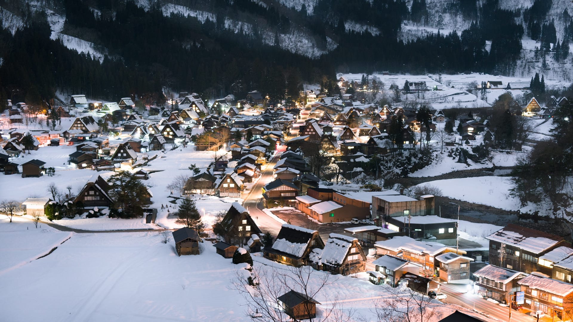 shirakawa-go winter