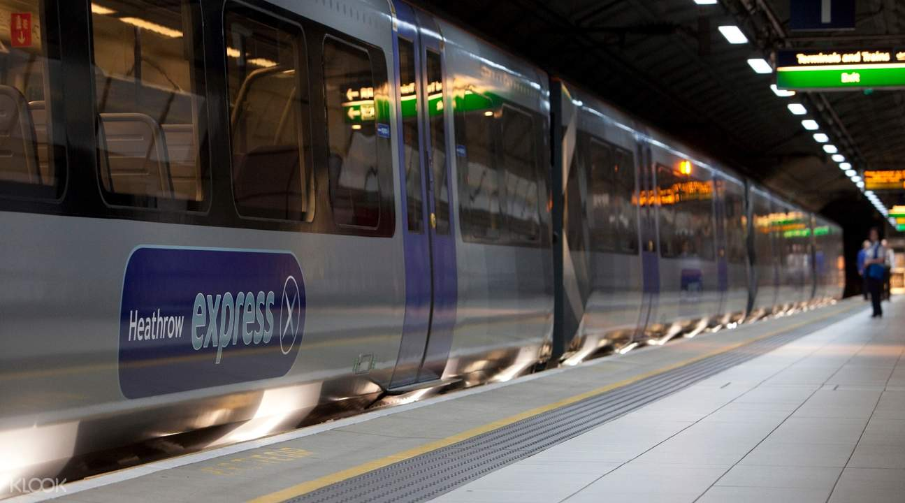 Klook UK Heathrow Express