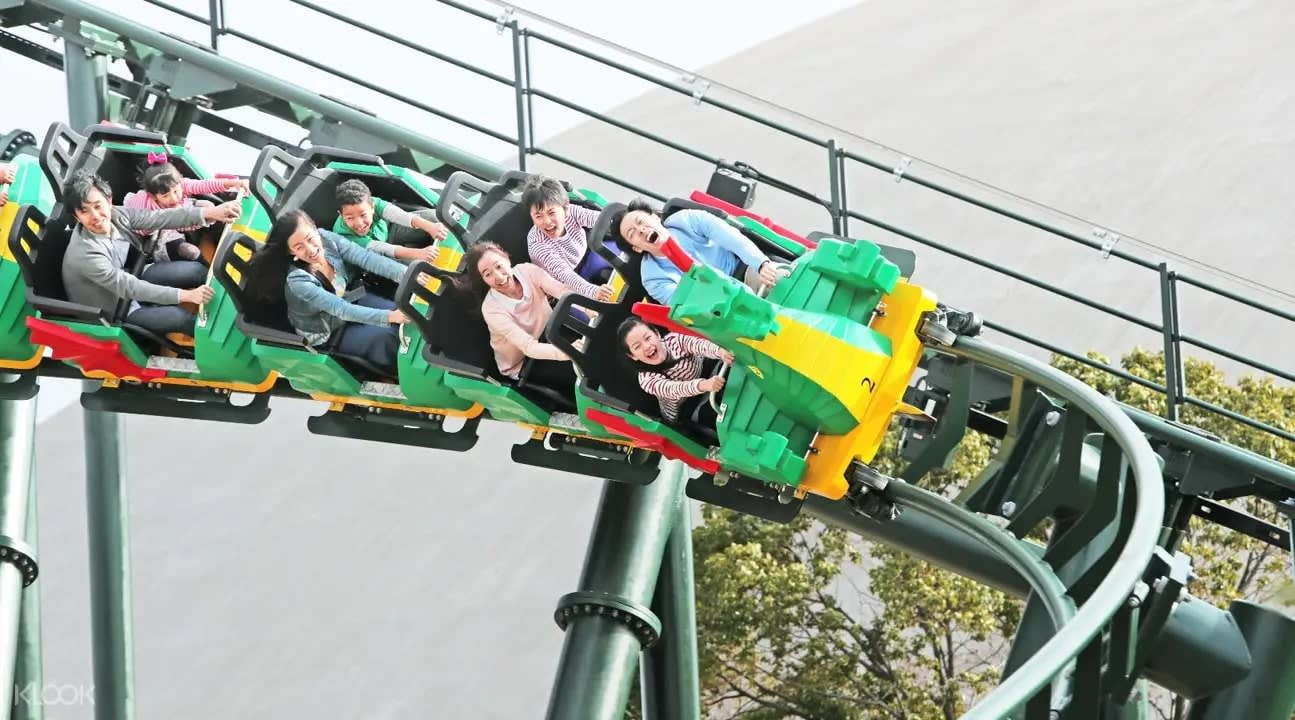 Dragon Coaster à Legoland au Japon