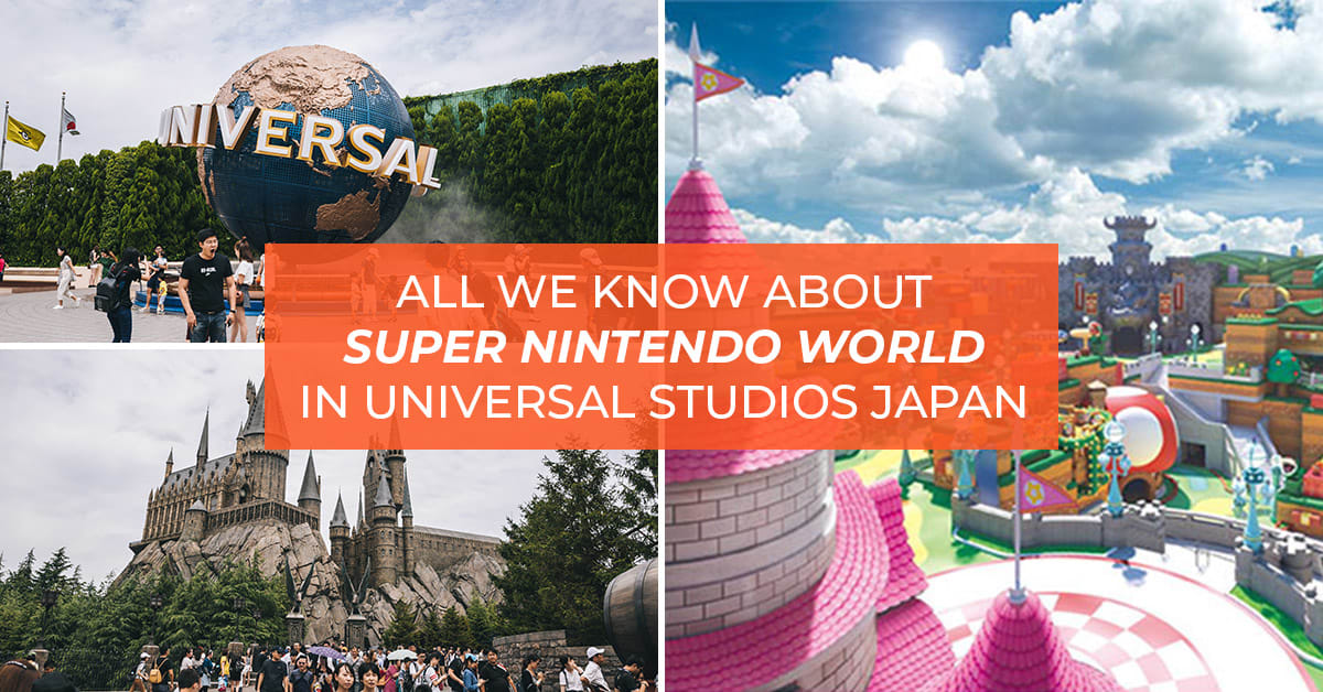 Super Nintendo World in Universal Studios Japan.