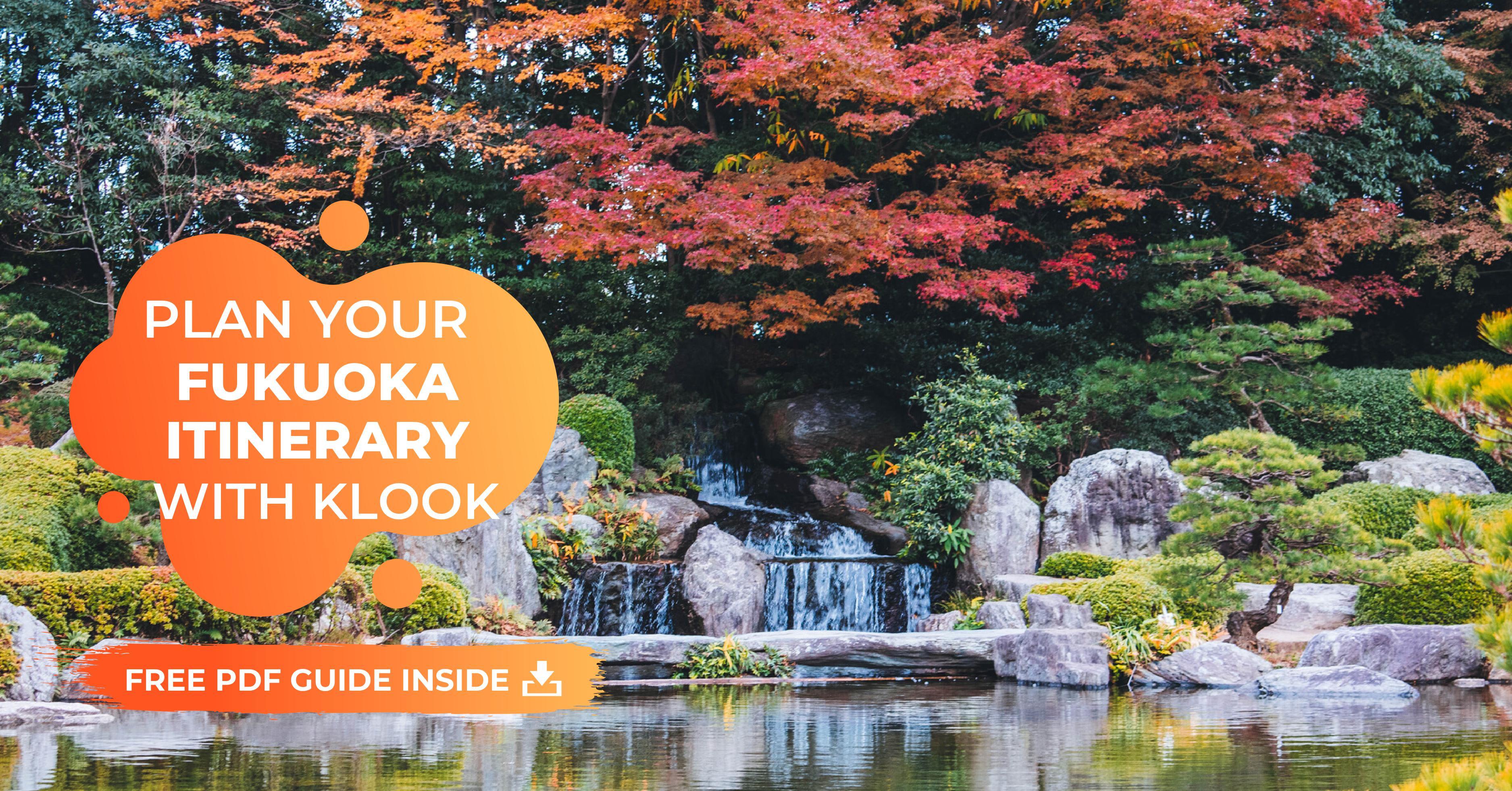 fukuoka itinerary pdf guide