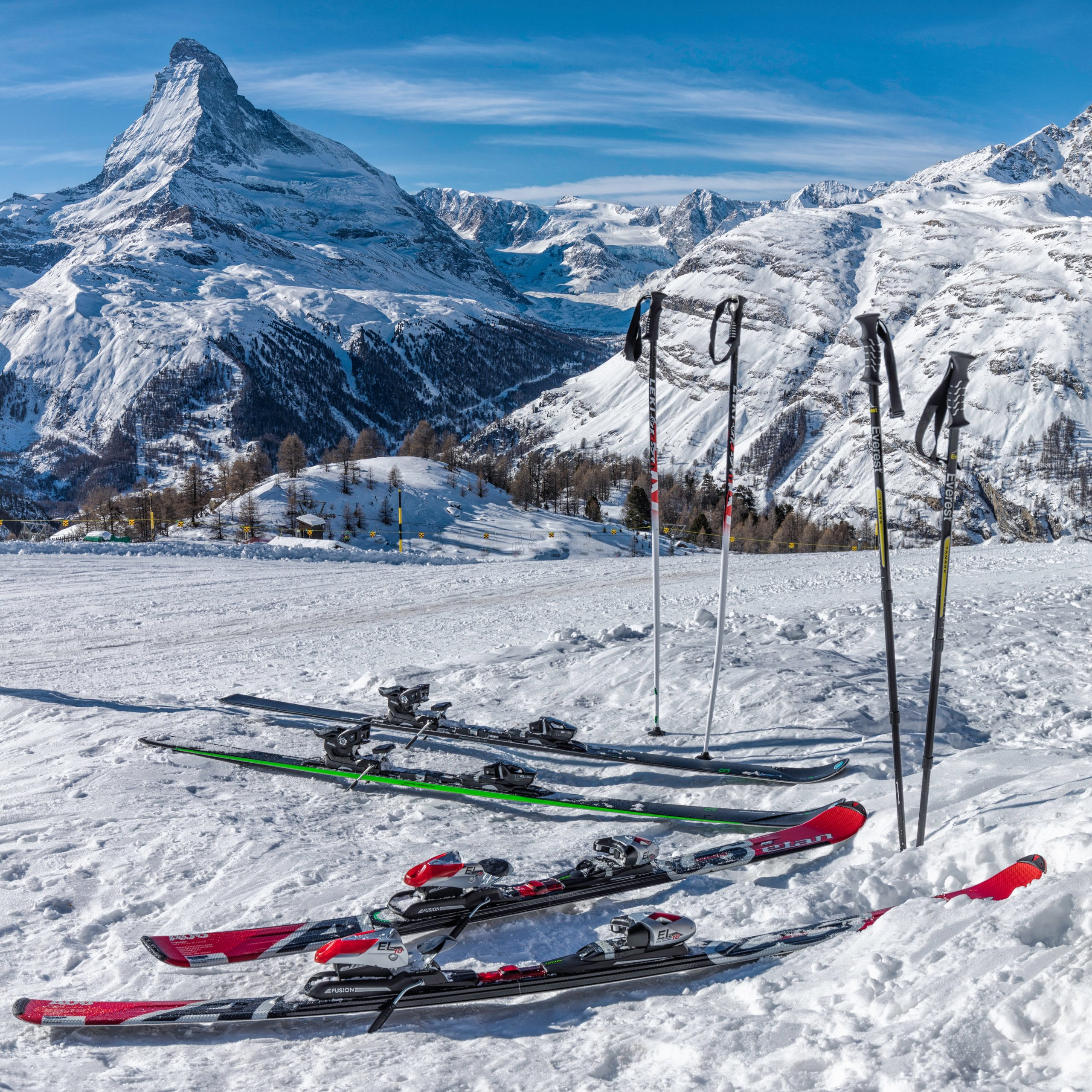 The Matterhorn Skiing