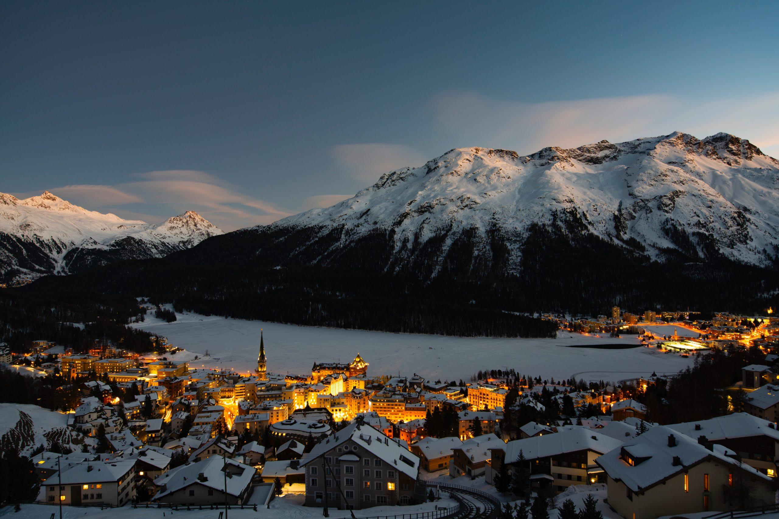 European Ski Destinations - St. Moritz, Switzerland