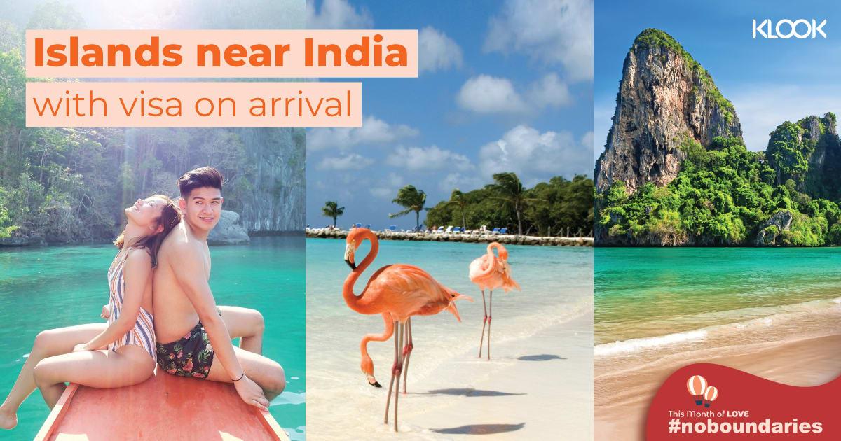 Islands near India