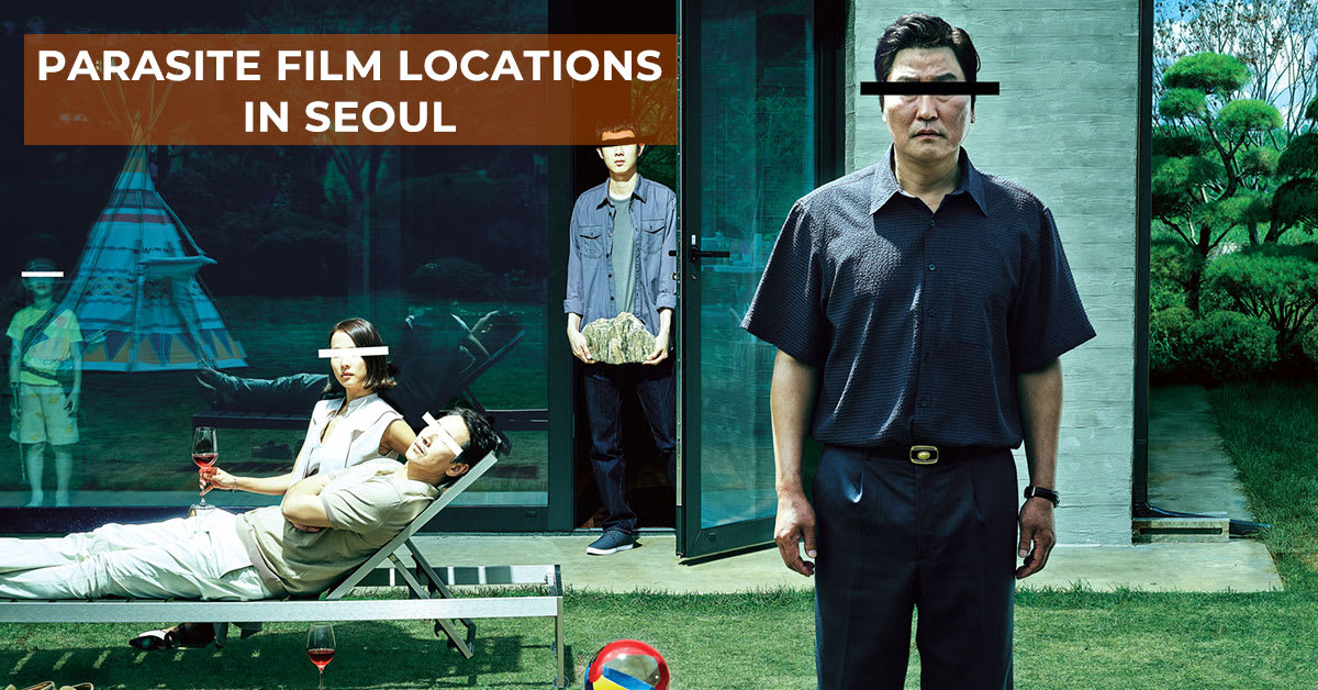 Parasite Seoul loacations cover image