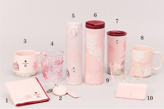 Starbucks Reserve Sakura 2020 Japan Numbered