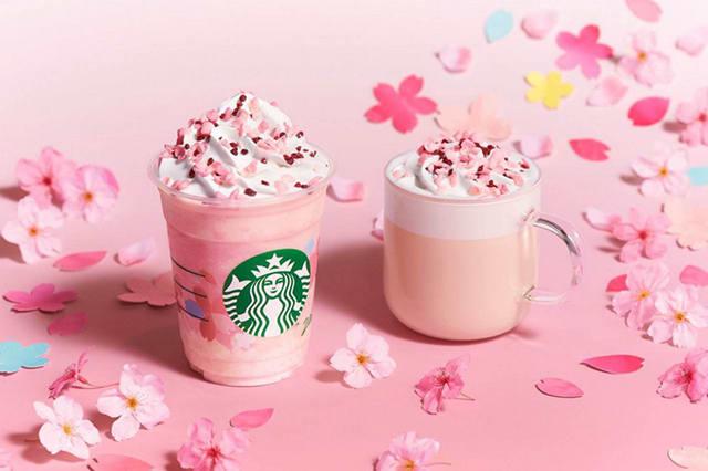Starbucks Sakura 2020 Drinks Japan