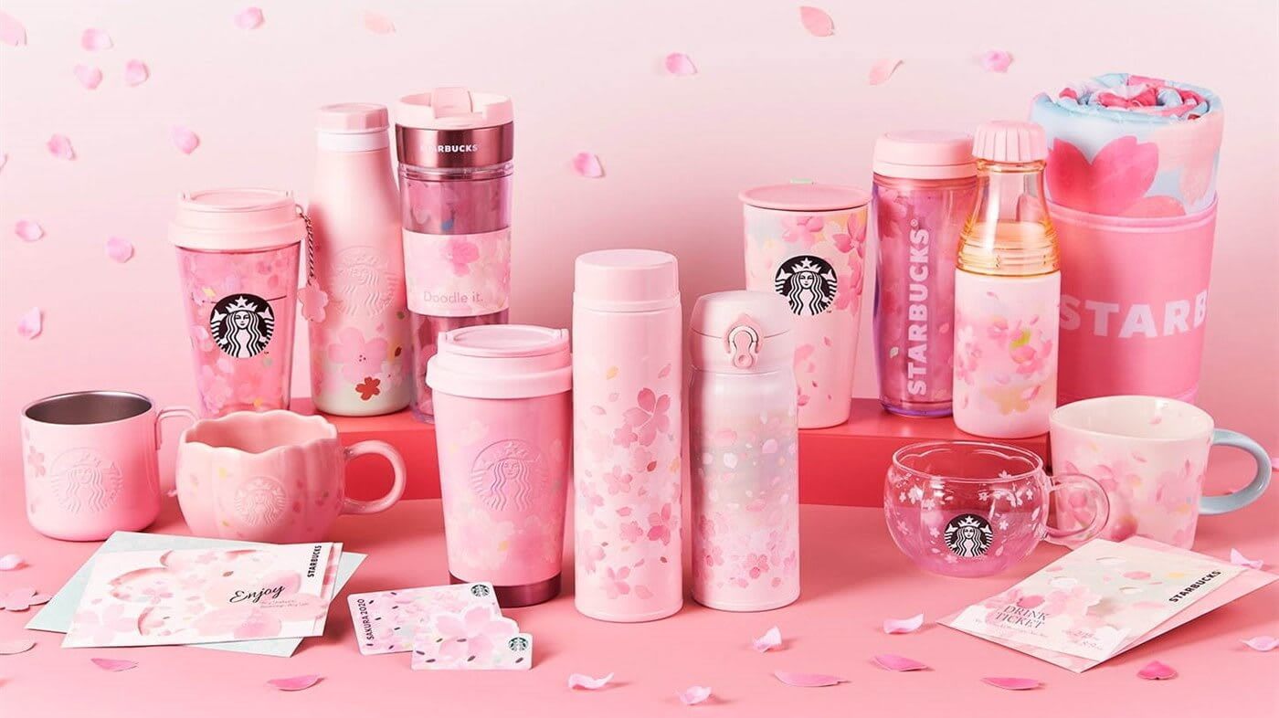 Starbucks Korea 2020 Spring Limited Spring Double Wall Glass Mug Tumbler 237ml