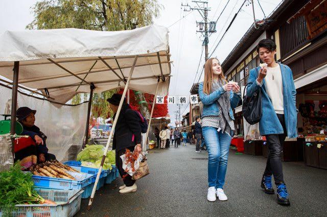 Takayama Miyagawa Morning Market