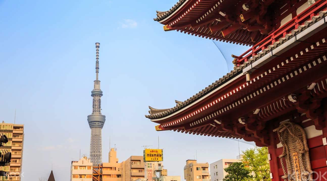 Tokyo skytree and asakusa
