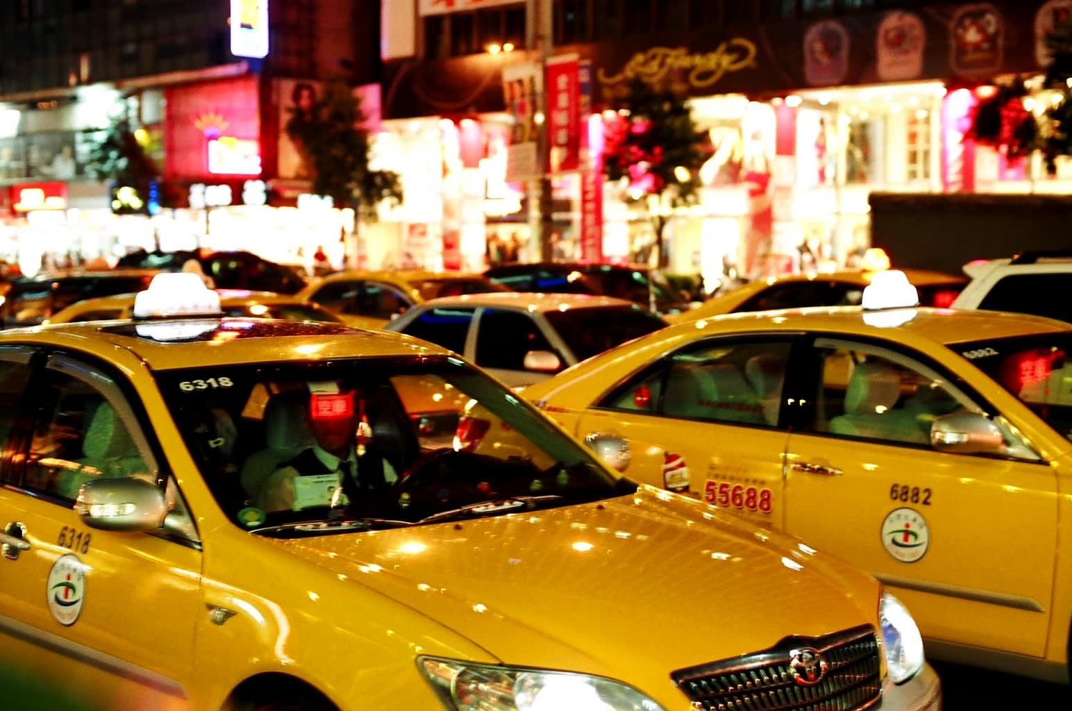 Taxis in Taiwan