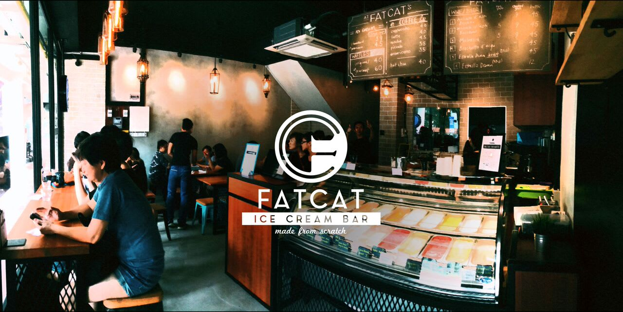 Photo Credit: Fat Cat Ice Cream Bar