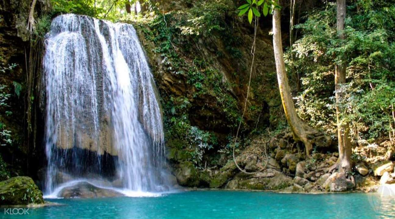 how-to-save-$100-on-your-year-end-holiday-to-Thailand-kachanaburi-saiyoknoi-waterfall
