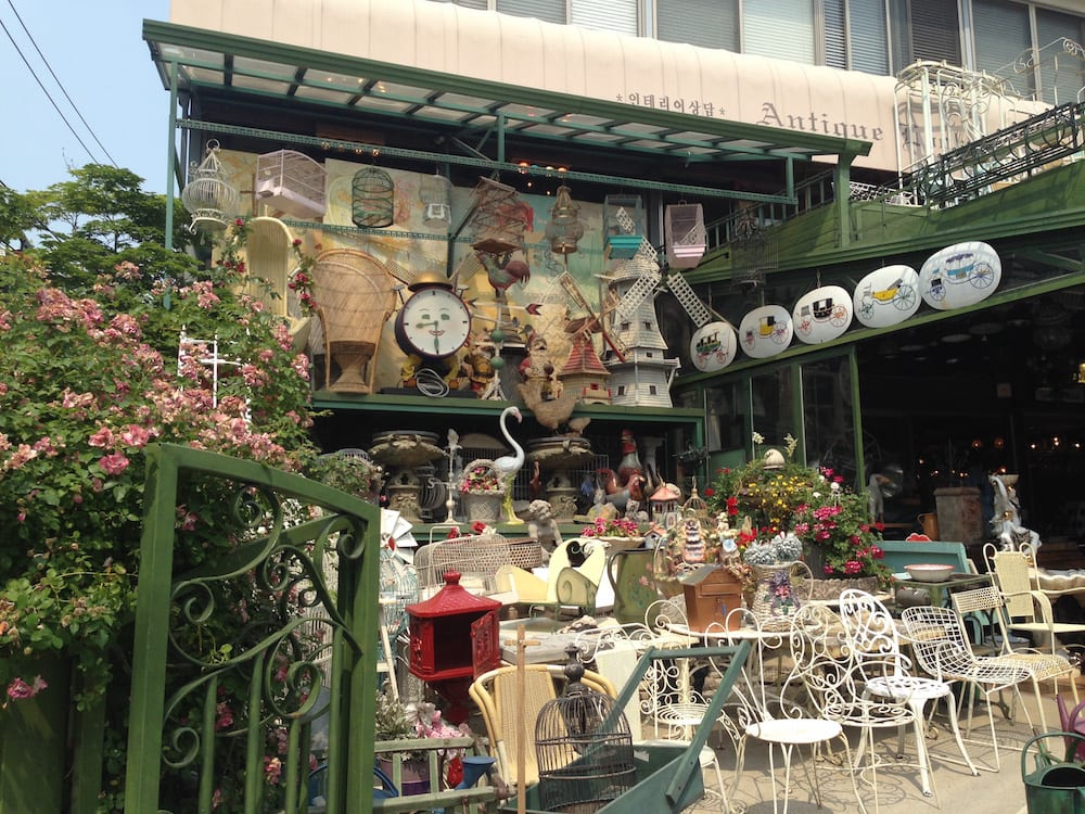 Itaewon Antique Furniture Street