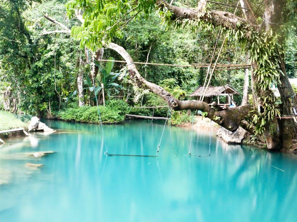 Laos Blue Lagoon