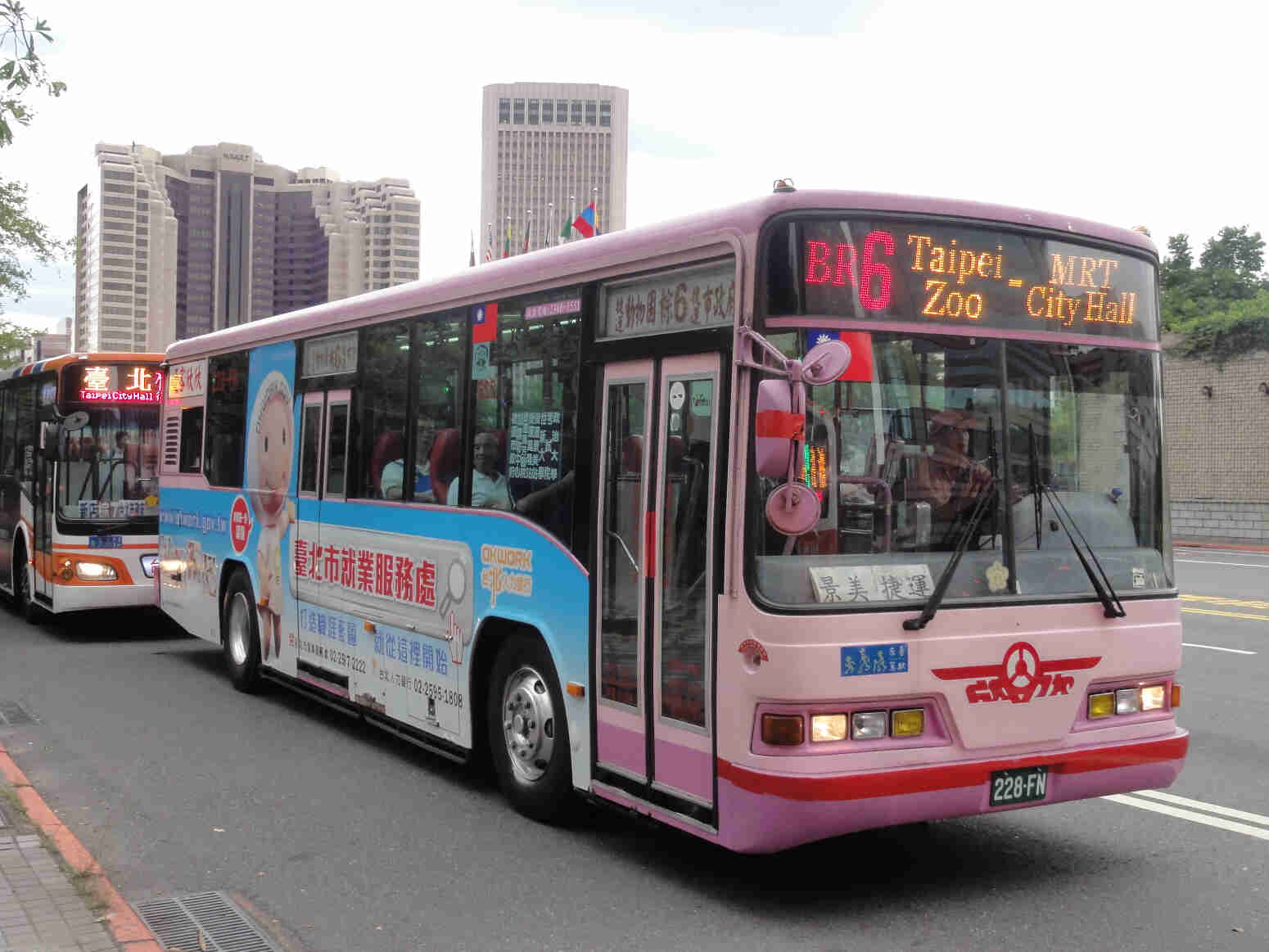 Buses in Taiwan