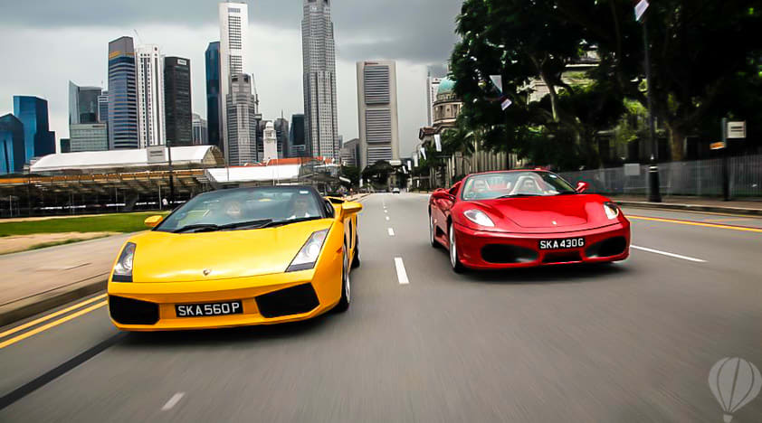 F1 Driving Experience - Singapore Attractions