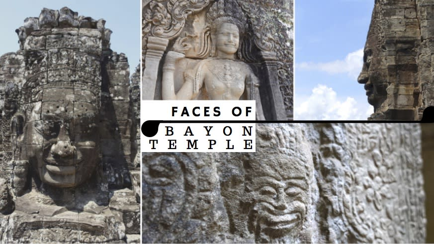 Bayon Temple Faces