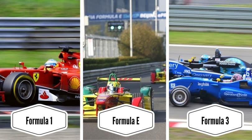 Formula Racing Cars