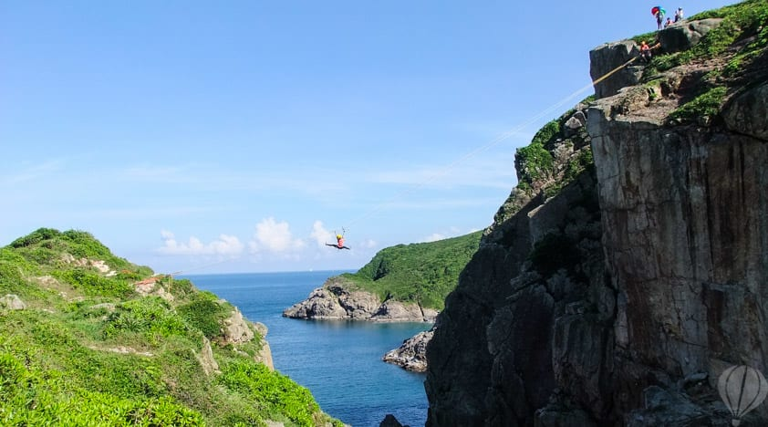 Ziplining Hong Kong