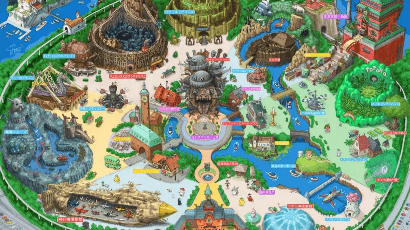 Studio Ghibli Theme Park: What The World Has Been Waiting For ...