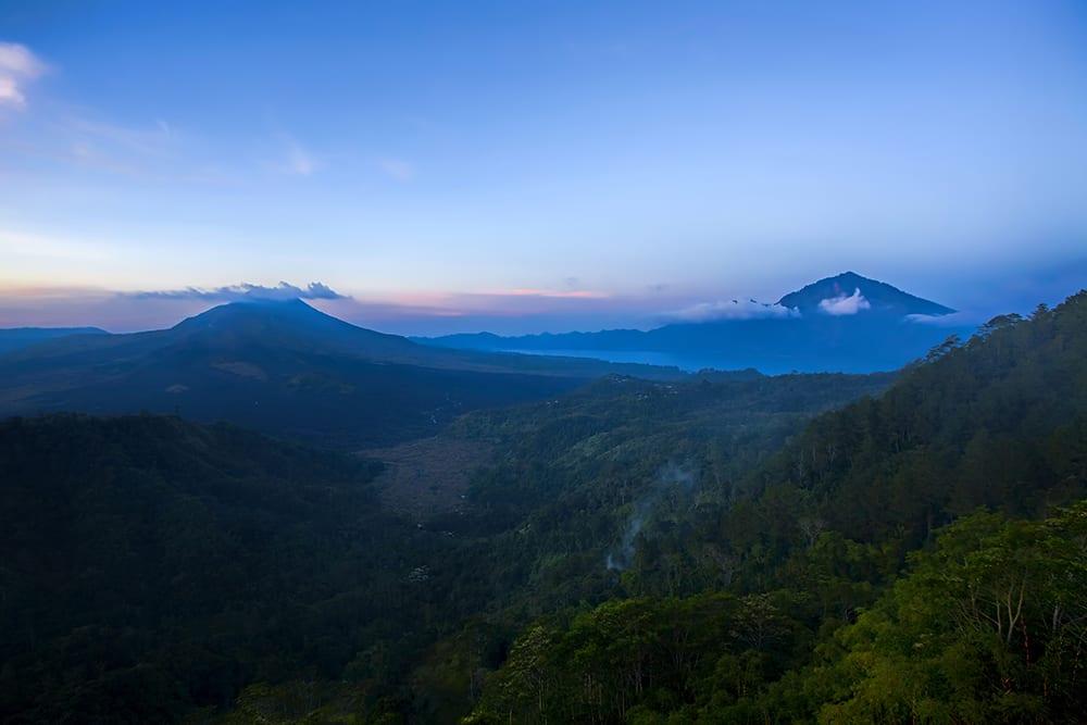 Indonesia - Bali - Sunrise over Mt Batur