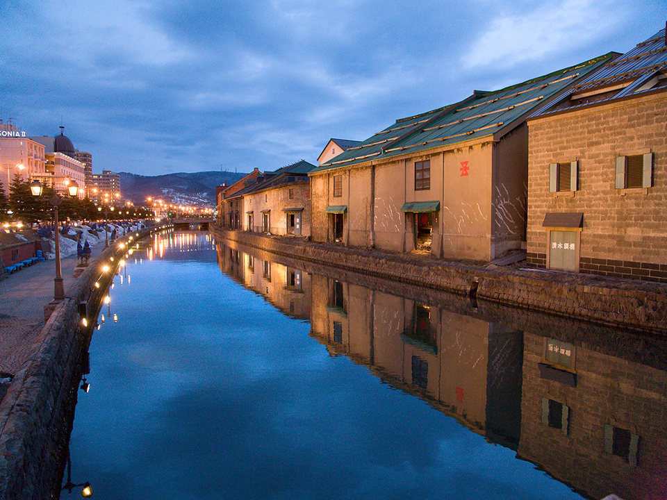 How-To-Use-Your-Japan-Rail-Pass-Hokkaido-otaru-canal