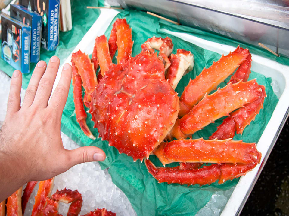 How-To-Use-Your-Japan-Rail-Pass-Hokkaido-crab