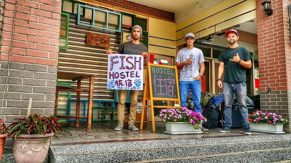 Jake Hemingway Taiwan Hostel