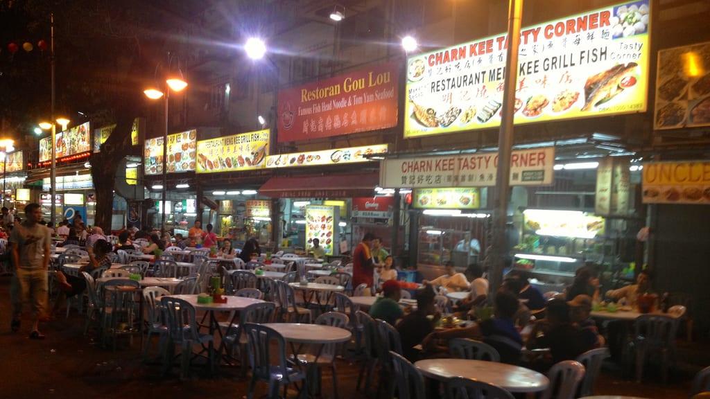 Street Food at Jalan Alor Kuala Lumpur