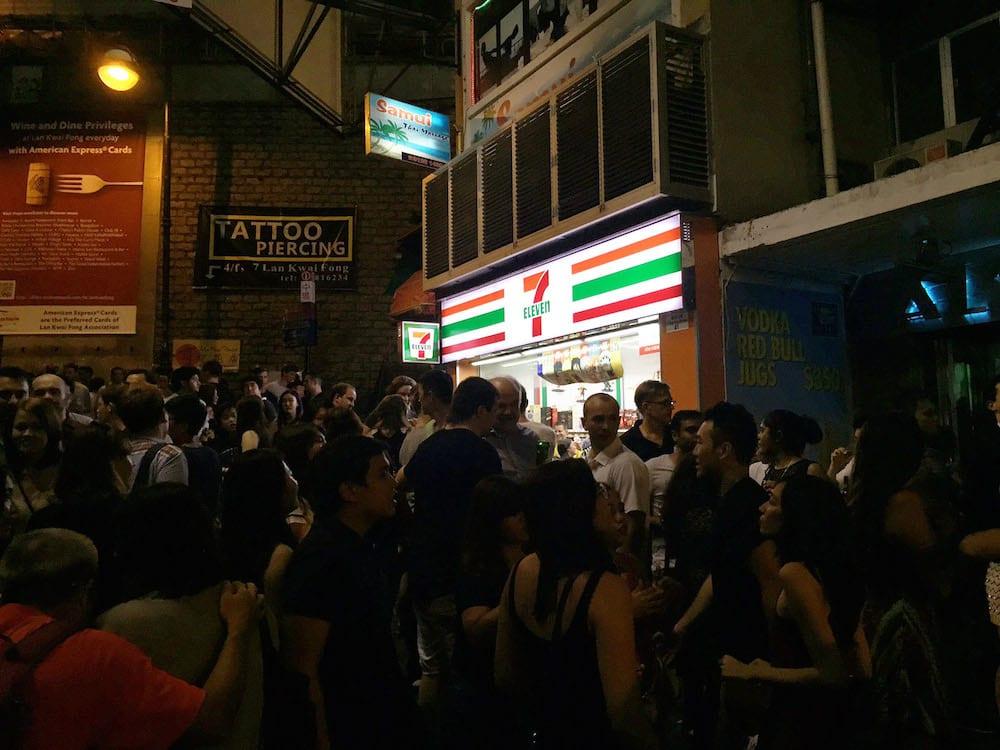 Lan Kwai Fong 7-Eleven
