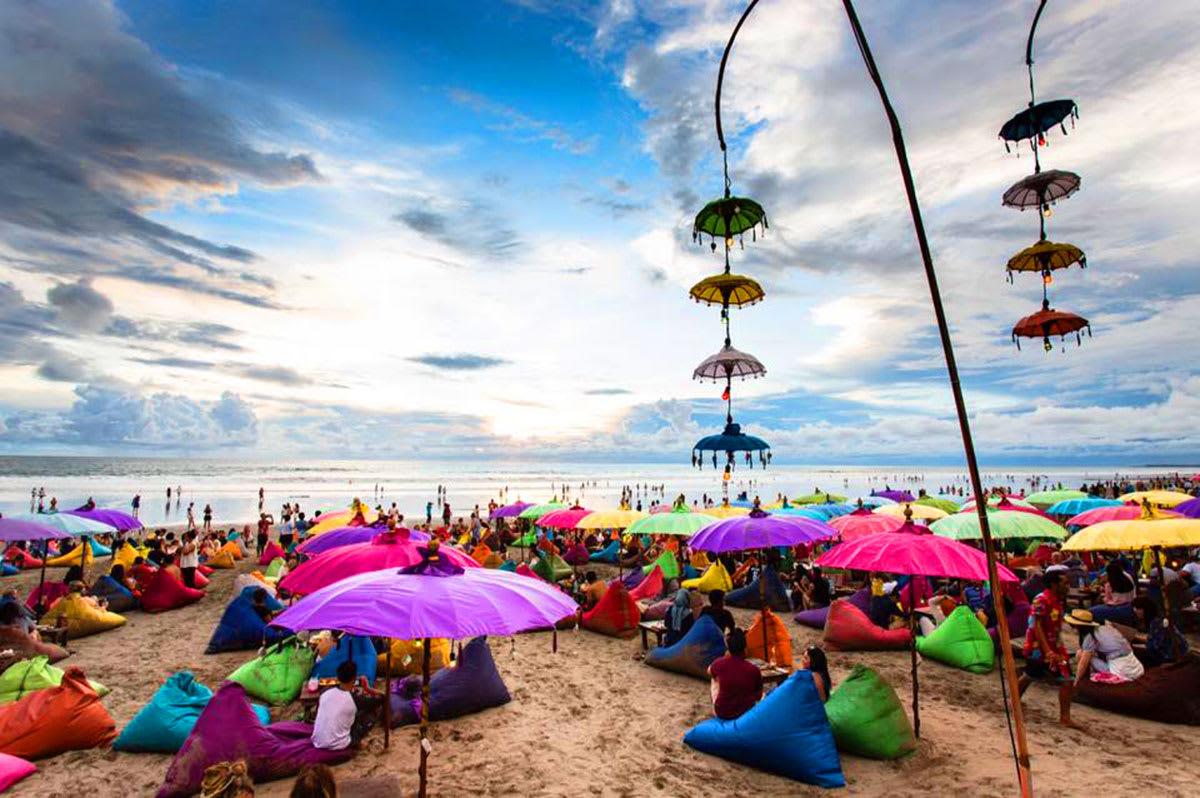 La Plancha Beach Club on Seminyak Beach