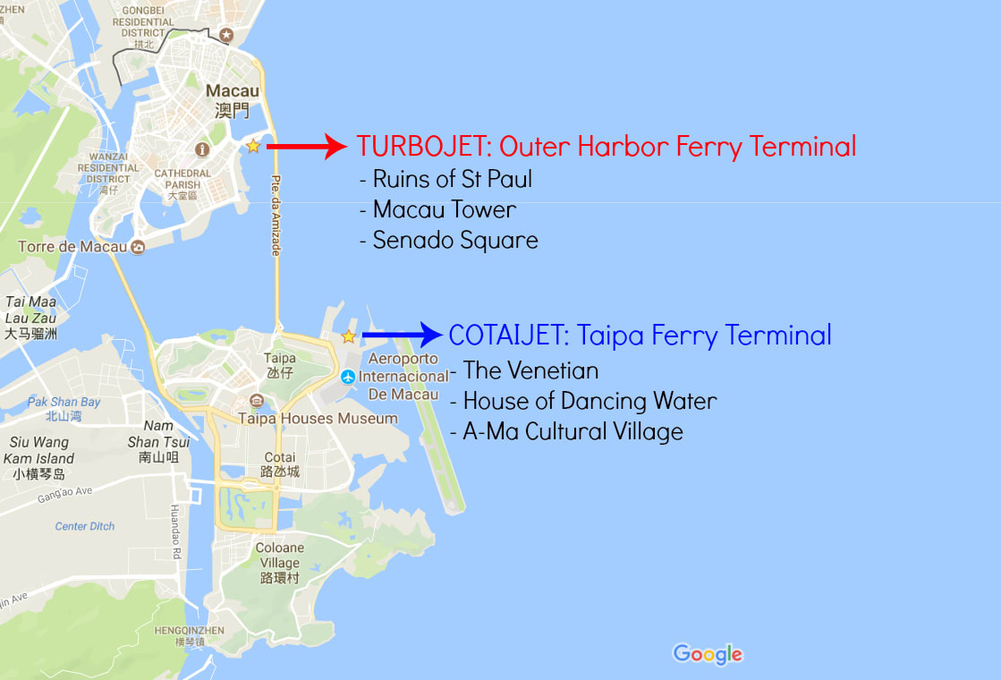 Hong Kong to Macau Ferry Guide: TurboJet & CotaiJet | Klook