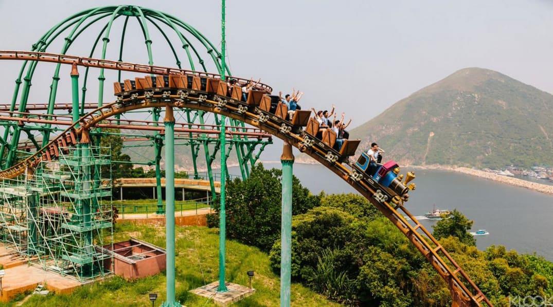 Hong Kong Ocean Park Ride
