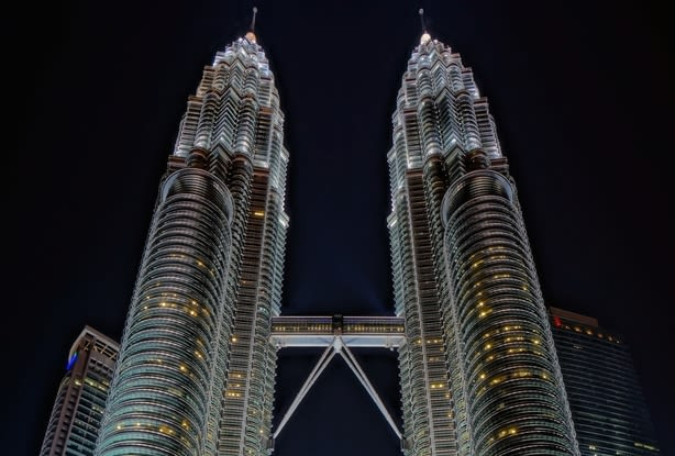KL at Night - Twin Towers