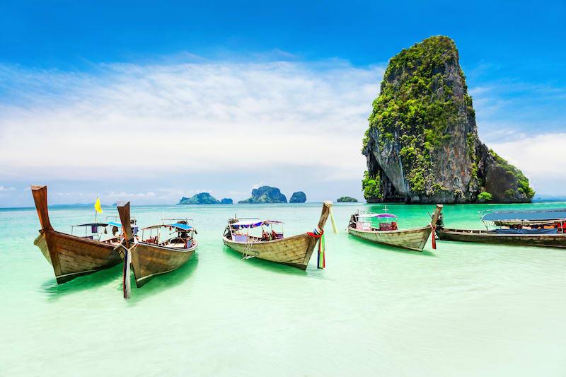 Longtale boat Phuket