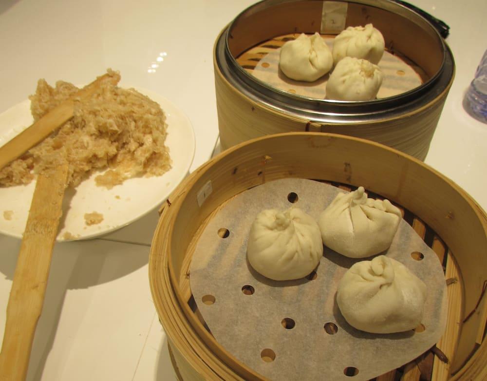 BBQ Pork Dumplings