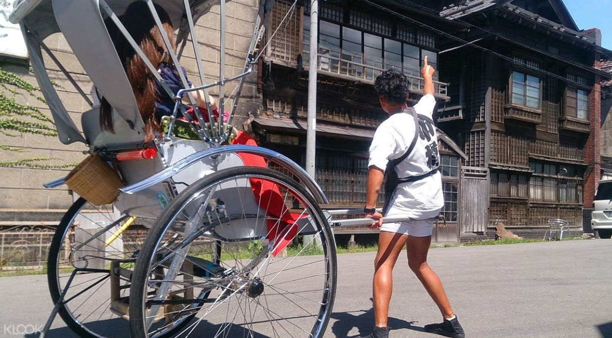 Rickshaw ride in Sapporo