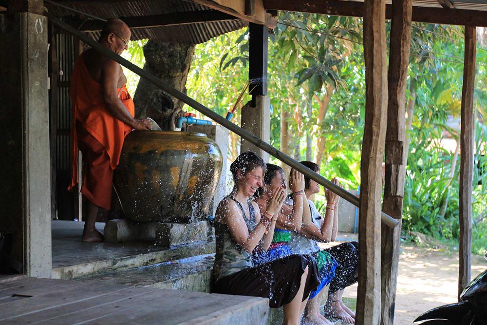 Siem Reap - Water Blessings