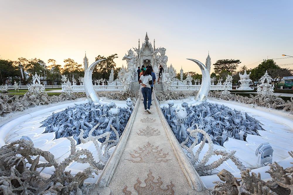 Thailand - Chiang Mai - Wat Rong Khun 2 copy