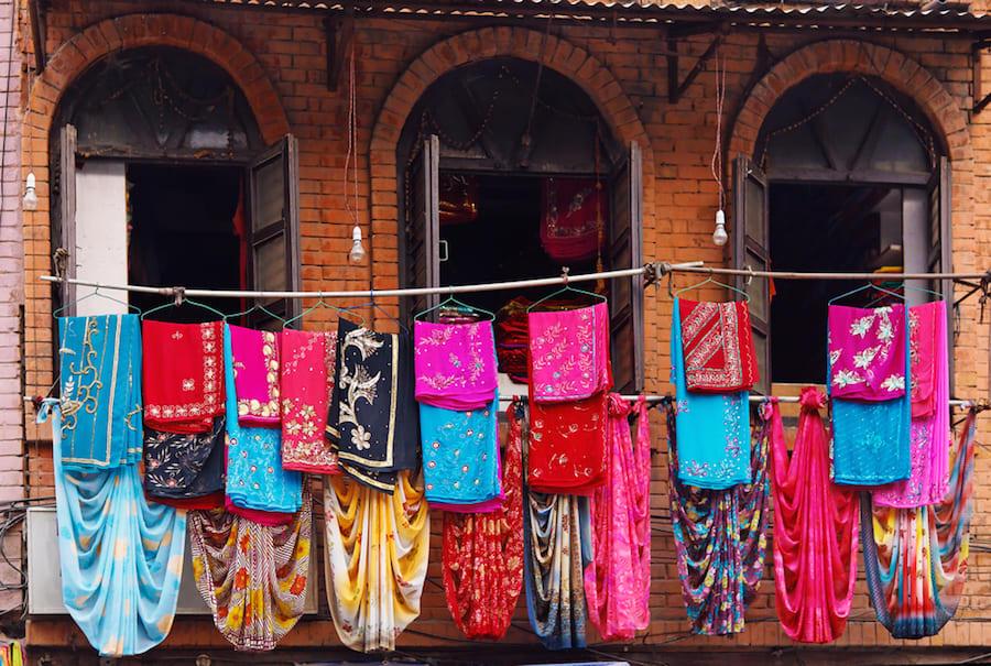 Kathmandu Traditional Fabric Shop