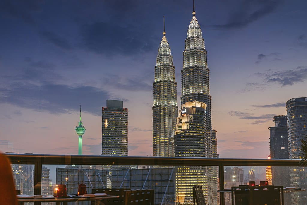 View of KL from Troika