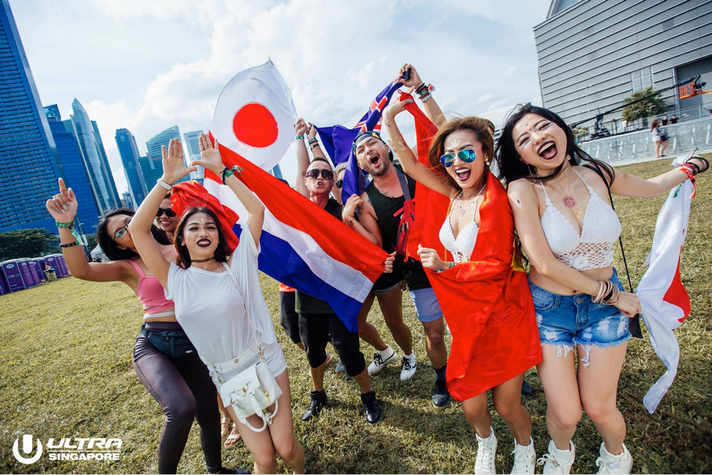 International crowd at ULTRA Singapore 2017