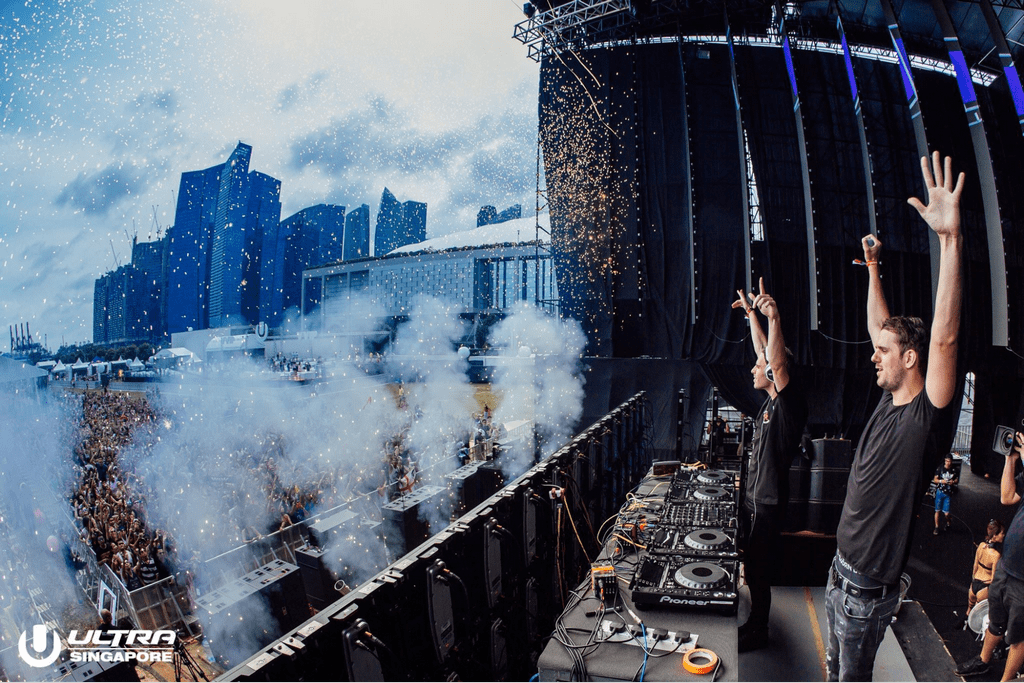 DJs at ULTRA Singapore 2017