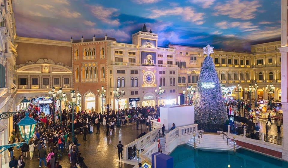 Venetian Macau Christmas