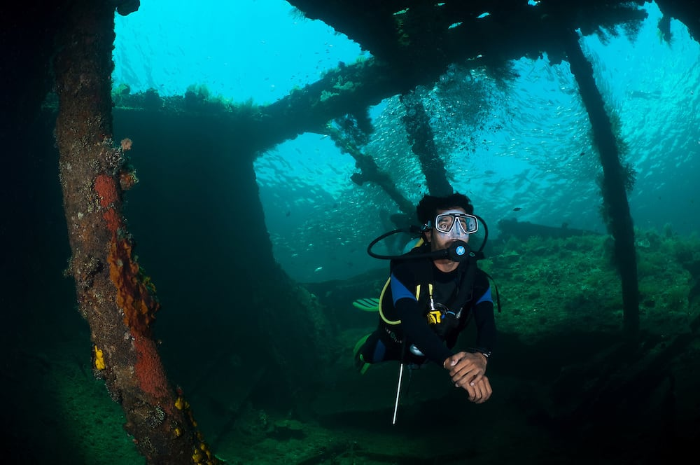 Bali USS Liberty Ship Wreck